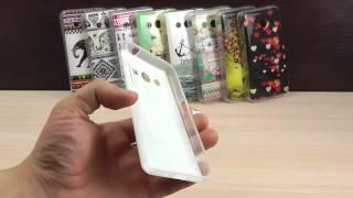 Обзор: Креативный Силиконовый Чехол-Накладка для Samsung Galaxy Core 2 Duos SM-G355H/DS с Рисунком