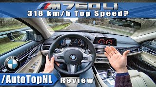 BMW M760Li REVIEW POV AUTOBAHN | CAN I REACH 318KM/H?! | by AutoTopNL