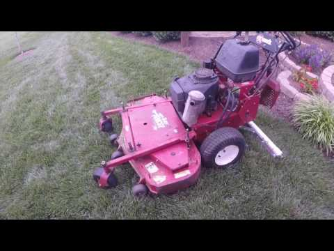 Making a lawn striping roller part 2 RESULTS