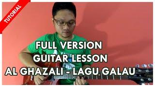 Belajar Gitar Melodi Al Ghazali -