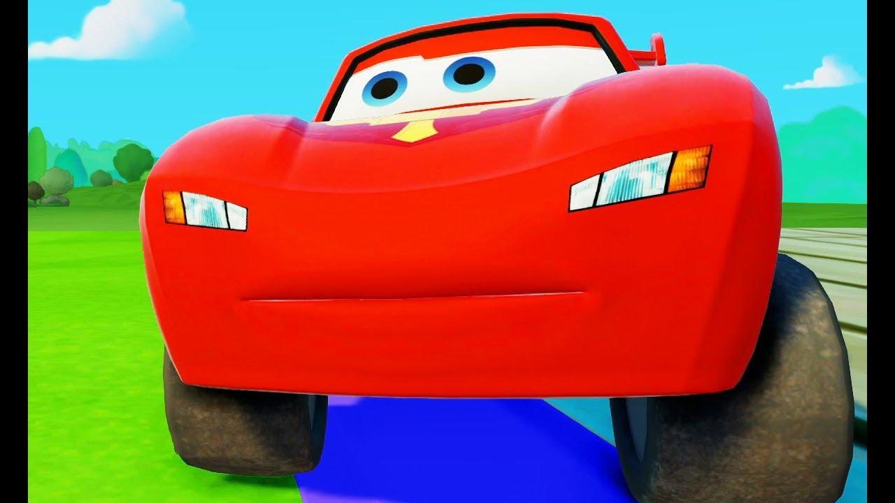 Мультик игра для детей про Машинки Гонки #МАКВИН Про ...