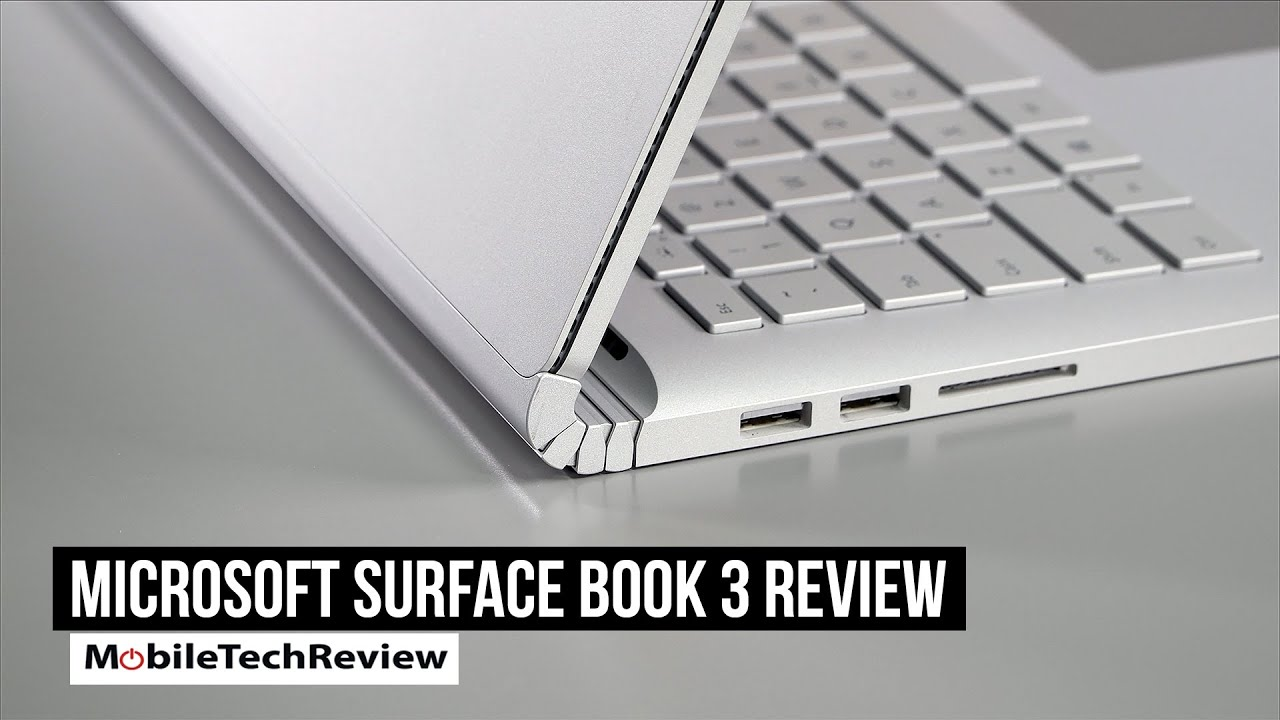 Microsoft Surface Book 3 Review - MobileTechReview