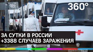 Почти 25 тысяч россиян заразились коронавирусом в России