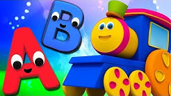 bob le train | aventure des alphabets | apprendre abc en français | Bob Train | Alphabet Adventure