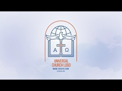 universal church logo after effects template youtube