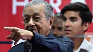 Tiongkok Tertampar!!! Mahathir Membatalkan Proyek Kolusi Obor