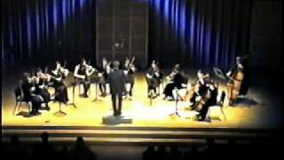 Britten Simple Symphony 4 Frolicsome Finale - conducting Gancho Ganchev