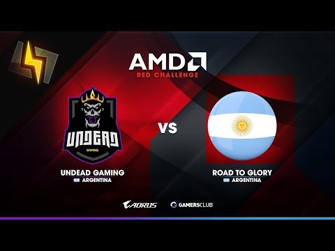 [ES] Undead Gaming vs Road To Glory | AMD Red Challenge #1 | Abril | Play-Offs | BO1 | Mirage