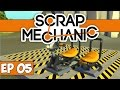 Scrap Mechanic Gameplay - Ep 05 - Driver's Saddles! - Lets Play Season 2