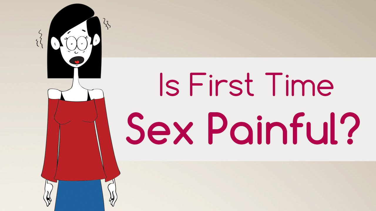 does first time sex hurt for guys