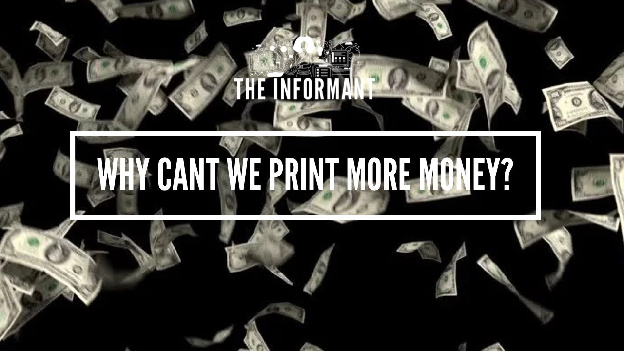 Download Why cant we print more money?