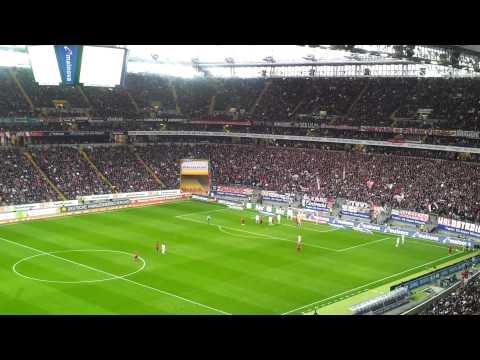 30.03.2012 Eitracht Frankfurt - Bochum. Just two minutes of the match
