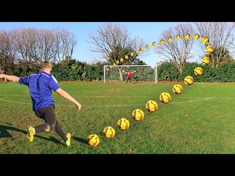 THE BEST GOAL EVER IN A FOOTBALL CHALLENGE