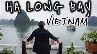 2 Days & 1 Night in Ha Long Bay, Vietnam- April 1 & 2, 2016 | Kimmyonaquest Vacation VLOG