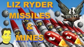 Elite Dangerous: Unlocking Liz Ryder Missiles and Mines - Not straight forward