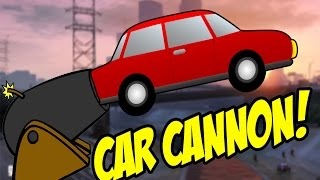 Vehicle Cannon Mod in GTA 5!
