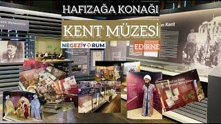 Edirne: Hafızağa Konağı Kent Müzesi