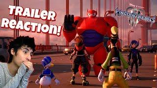 Kingdom Hearts 3 Big Hero 6: Trailer Reaction