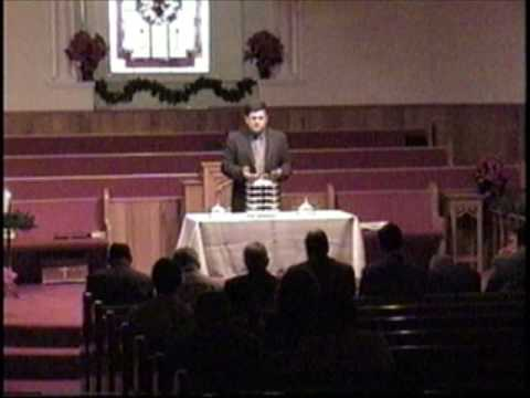 """Communion Service"" December 2002 - Mount Carmel Baptist Church, Fort Payne Alabama"