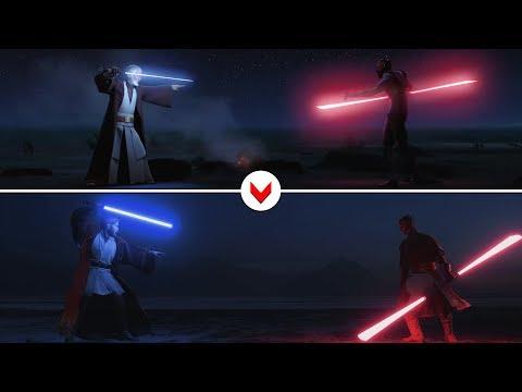 Darth Maul vs Obi Wan [Rebels] Recreated in Battlefront II thumbnail