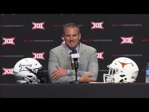 The Bottom Line - WATCH: Tom Herman's Big 12 Media Days Press Conference