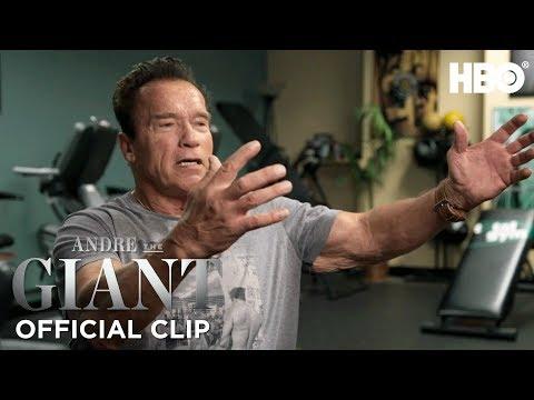 'Andre the Giant & Arnold Schwarzenegger's Dinner' Official Clip | Andre The Giant | HBO