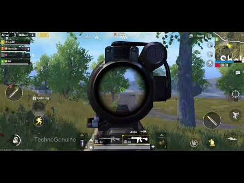 PUBG MOBILE IN GALAXY NOTE 9 15KILLS! MAX SETTINGS ULTRA GRAPHIC 60FPS