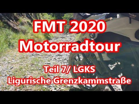Teil 7, FMT 2020, Motorradtour, LGKS, Ligurische Grenzkammstraße, Juli/August