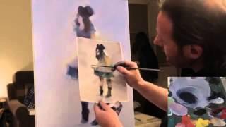 Пишем_ БАЛОВАСТИК .Урок живописи Игоря Сахарова.