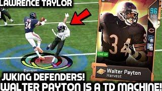 WALTER PAYTON JUKING DEFENDERS! LAWRENCE TAYLOR! Madden 19 Ultimate Team