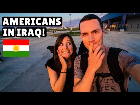 Flying to IRAQ! (Kurdistan)