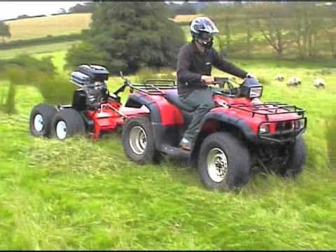 Quad X Atv Rush Power Shredder Youtube