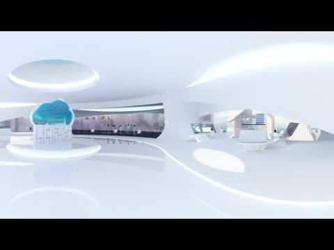 Virtual Reality - Discover your new workplace at Konica Minolta's future office