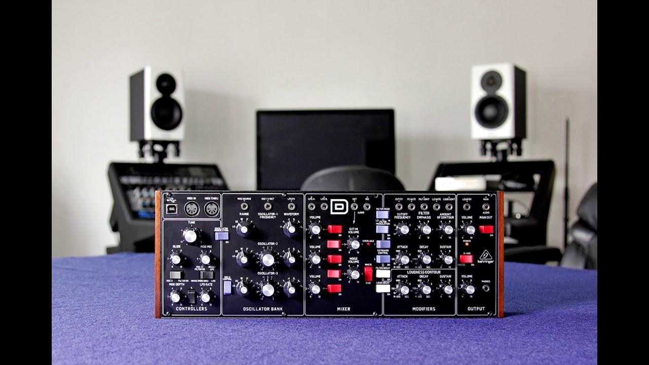 Behringer Model D Sound Presets (Techno, Trance, House) + Preset Editor + Ableton Template
