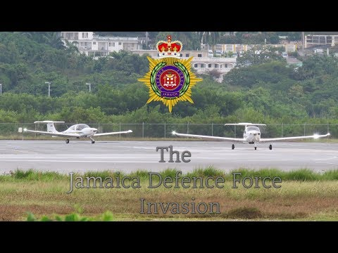 Tropical Aviation - The Jamaica Defence Force Invasion