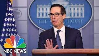 Mnuchin Announces The Possibility Of 'Very Significant' Sanctions Against Turkey | NBC News