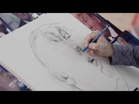 How to Draw Donald Trump | Vanity Fair