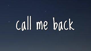 Billie Eilish - call me back (Lyrics)