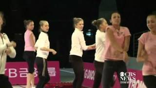 Olympians dance to