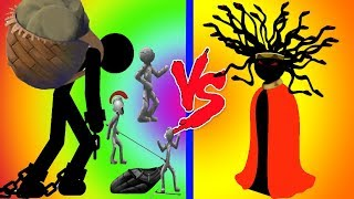 Stick War 2 - Giant Boss Vs Medusa Final Boss