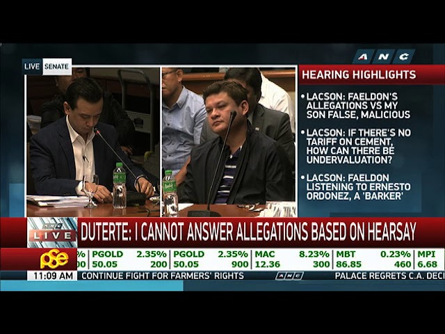 Paolo Duterte's back tattoo proves he's part of 'triad': Trillanes