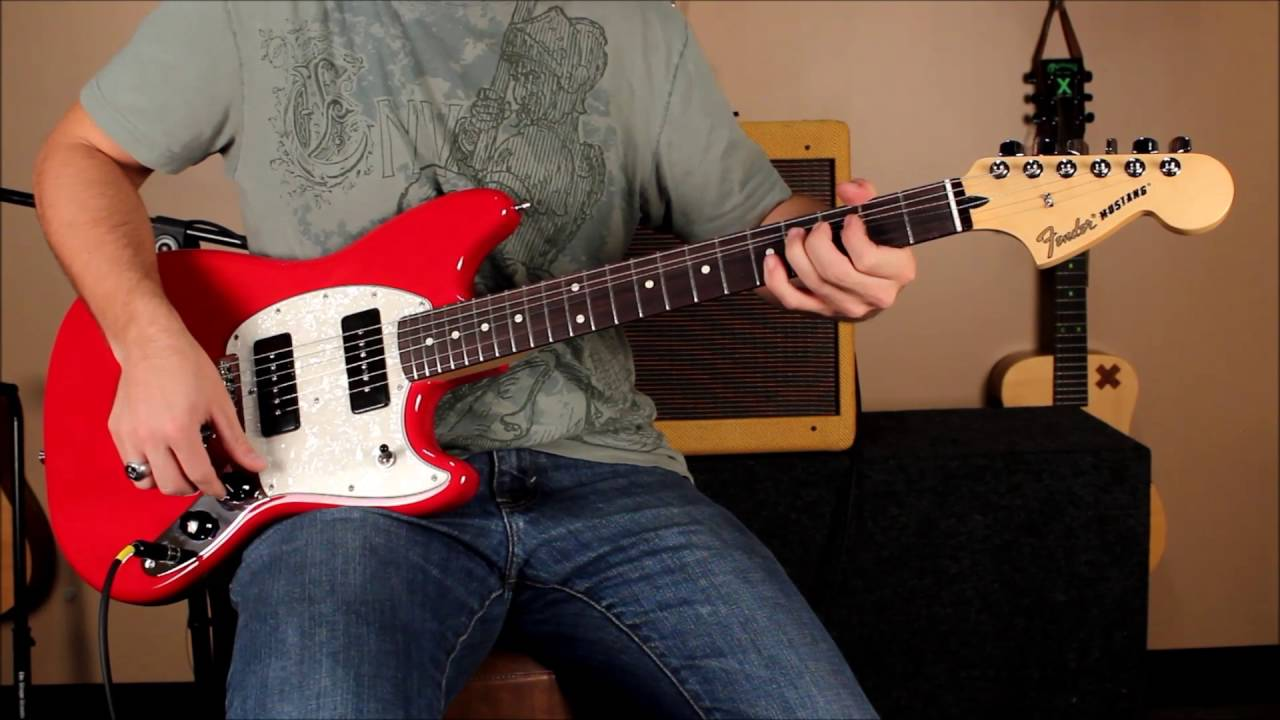 Fender 2016 Offset Series Mustang Mustang 90 And Duosonic Youtube