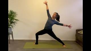 30 Min Shoulders and Hips Flow Yoga Class