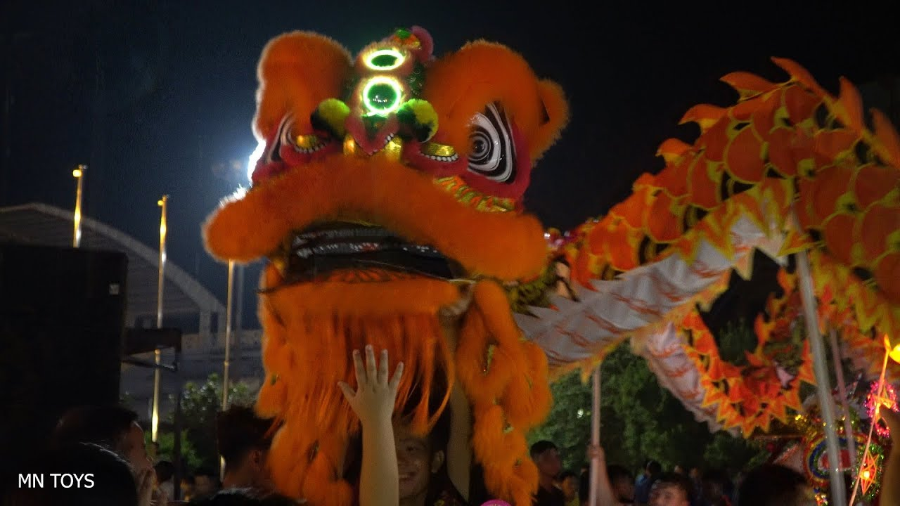 Trung Thu 2019 - Múa Lân Ngày Hội Trăng Rằm Tết Thiếu Nhi - MN TOYS