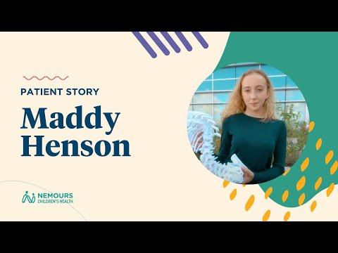 Madilyn's Scoliosis Story - Nemours Children's Hospital