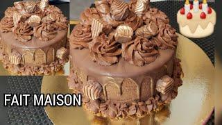 Gâteau au chocolat le plus apprécié كيكة الشوكولاته المحبوبة من طرف الجميع بكل أسرارها