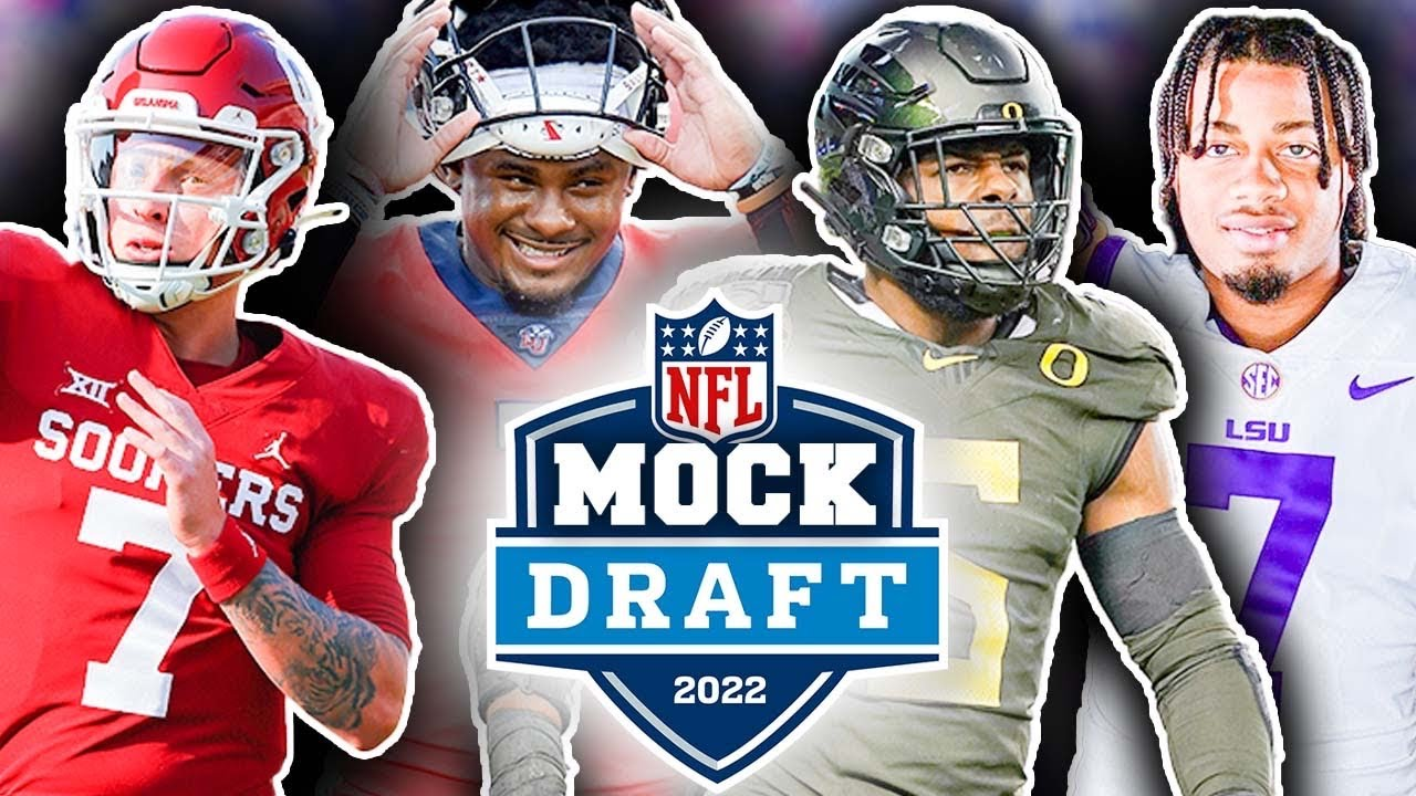 """Download The OFFICIAL """"Way Too Early"""" 2022 NFL First Round Mock Draft (1.0 Players Making Their Moves)"""
