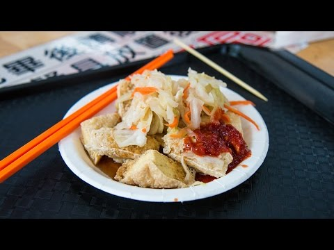 Stinky Tofu at Maokong Gondola & Lin's Family Garden (Taiwan Day 11)