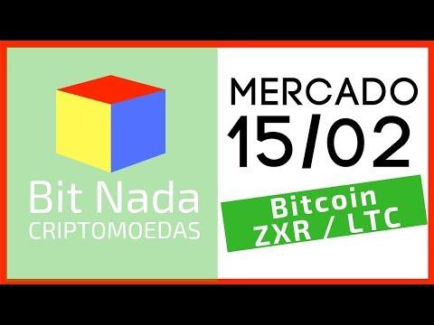Mercado de Cripto! 15/02 / BTC / ZRX / LTC / Moeda de Banco / BTC Offline!