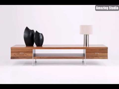 tv tisch aus holz fernsehm bel ideen f r zuhause youtube. Black Bedroom Furniture Sets. Home Design Ideas